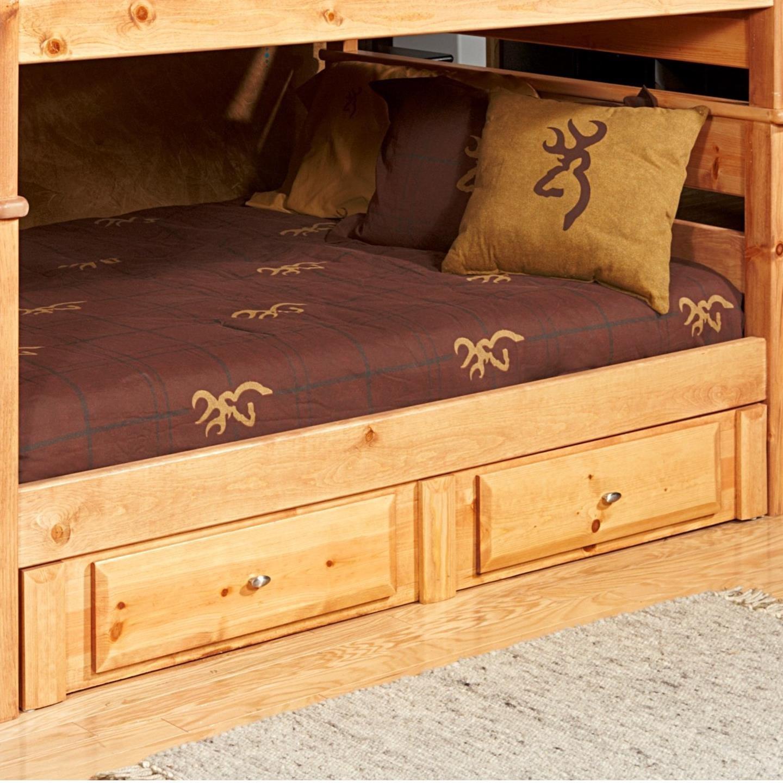 Laguna  2 Drawer Underdresser by Trendwood at HomeWorld Furniture