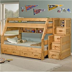Twin High Sierra Bunk Bed