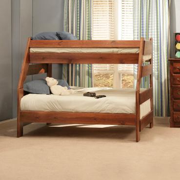 Sedona  Twin/Full Bunk Bed at Sadler's Home Furnishings