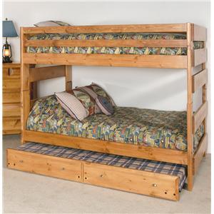 Trendwood Visions Full/Full Big Sky Bunk Bed