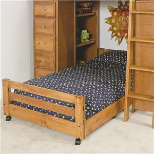 Trendwood Visions Twin Caster Bed