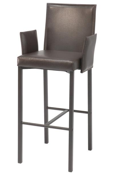 Contemporary Seating Quadrato II Bar Stool at Bennett's Furniture and Mattresses