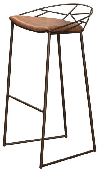 Contemporary Seating Stem Bar Stool by Trica at Dinette Depot