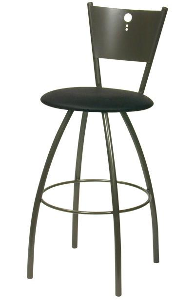 Contemporary Seating Tiptop Bar Stool by Trica at Dinette Depot