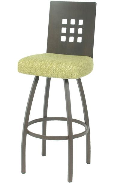 Contemporary Seating Tristan Bar Stool by Trica at Dinette Depot