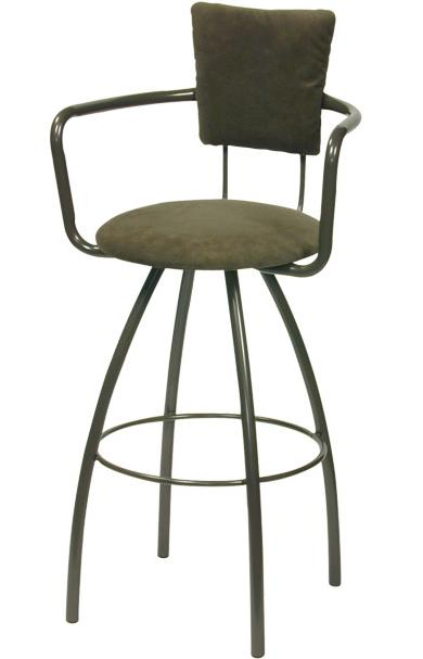 Contemporary Seating Zip Bar Stool by Trica at Dinette Depot