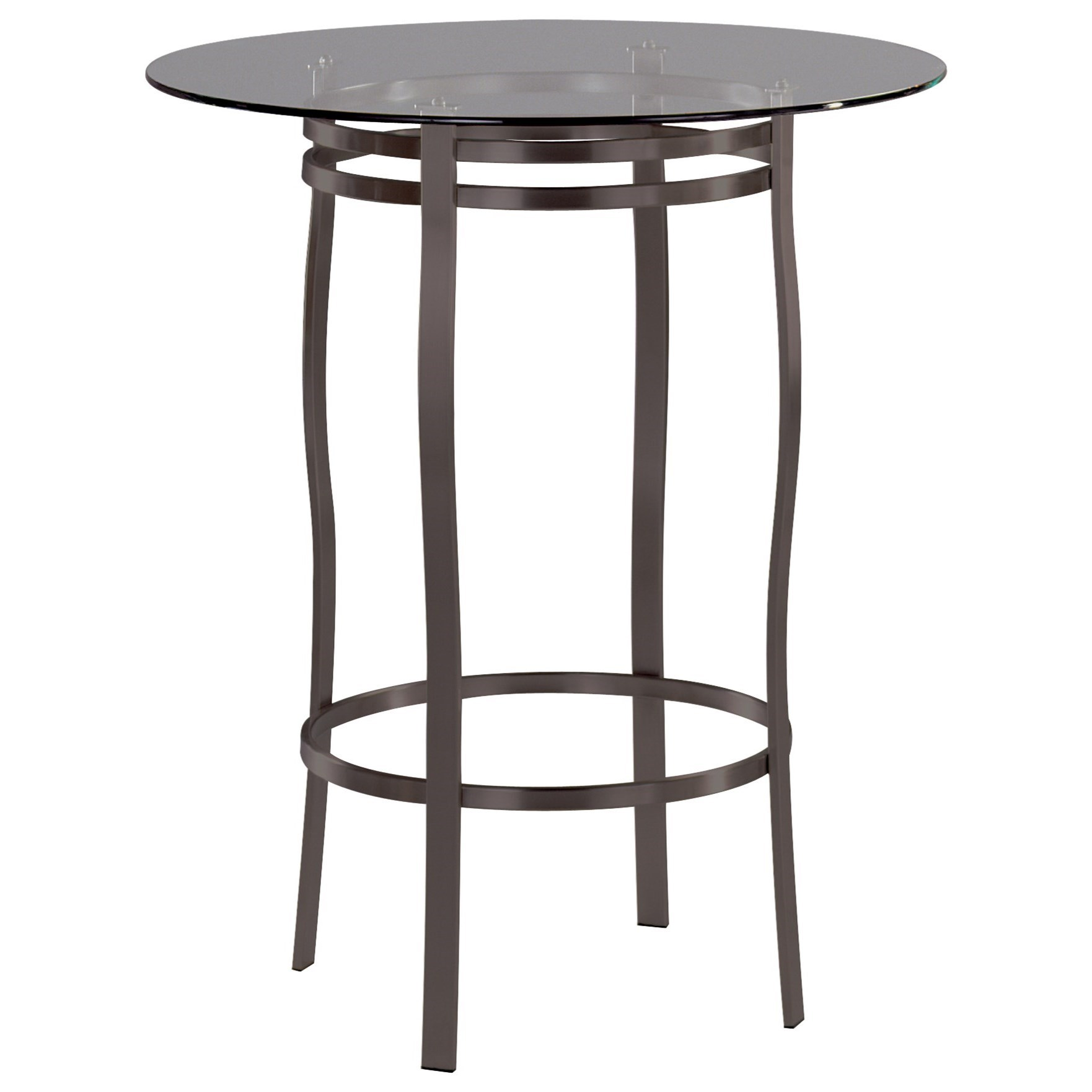 Contemporary Tables Bourbon Round Table by Trica at Stoney Creek Furniture