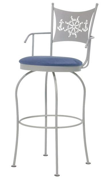 Transitional Bar Stools Art Collection II Bar Stool by Trica at Dinette Depot