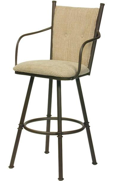 Transitional Bar Stools Arthur II Bar Stool by Trica at Jordan's Home Furnishings