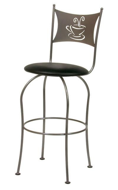 Transitional Bar Stools Cafe Bar Stool by Trica at Jordan's Home Furnishings