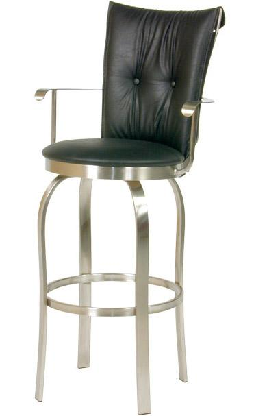 Transitional Bar Stools Tuscany II Bar Stool by Trica at Dinette Depot