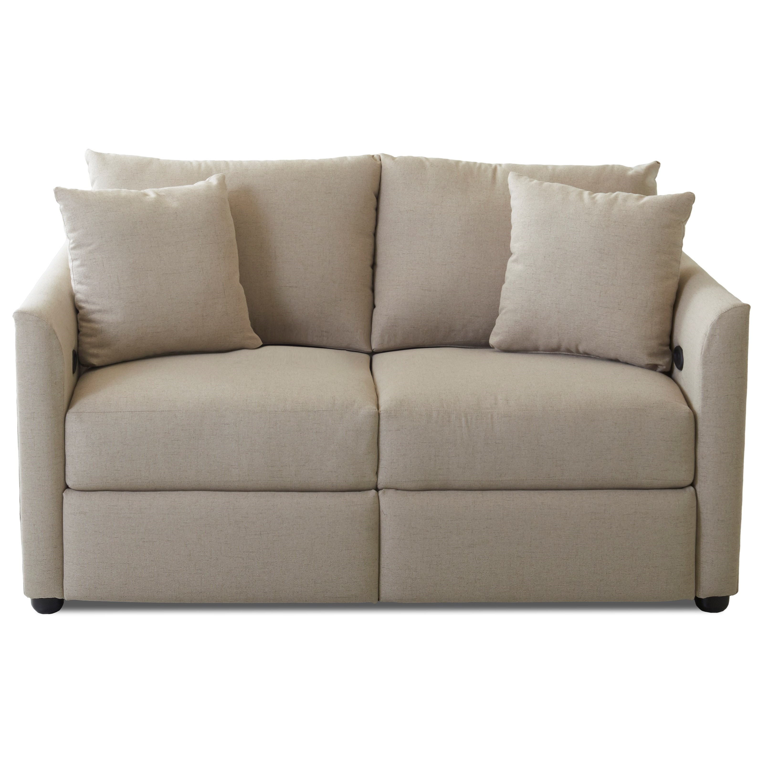 Atlanta Power Reclining Loveseat by Klaussner at H.L. Stephens