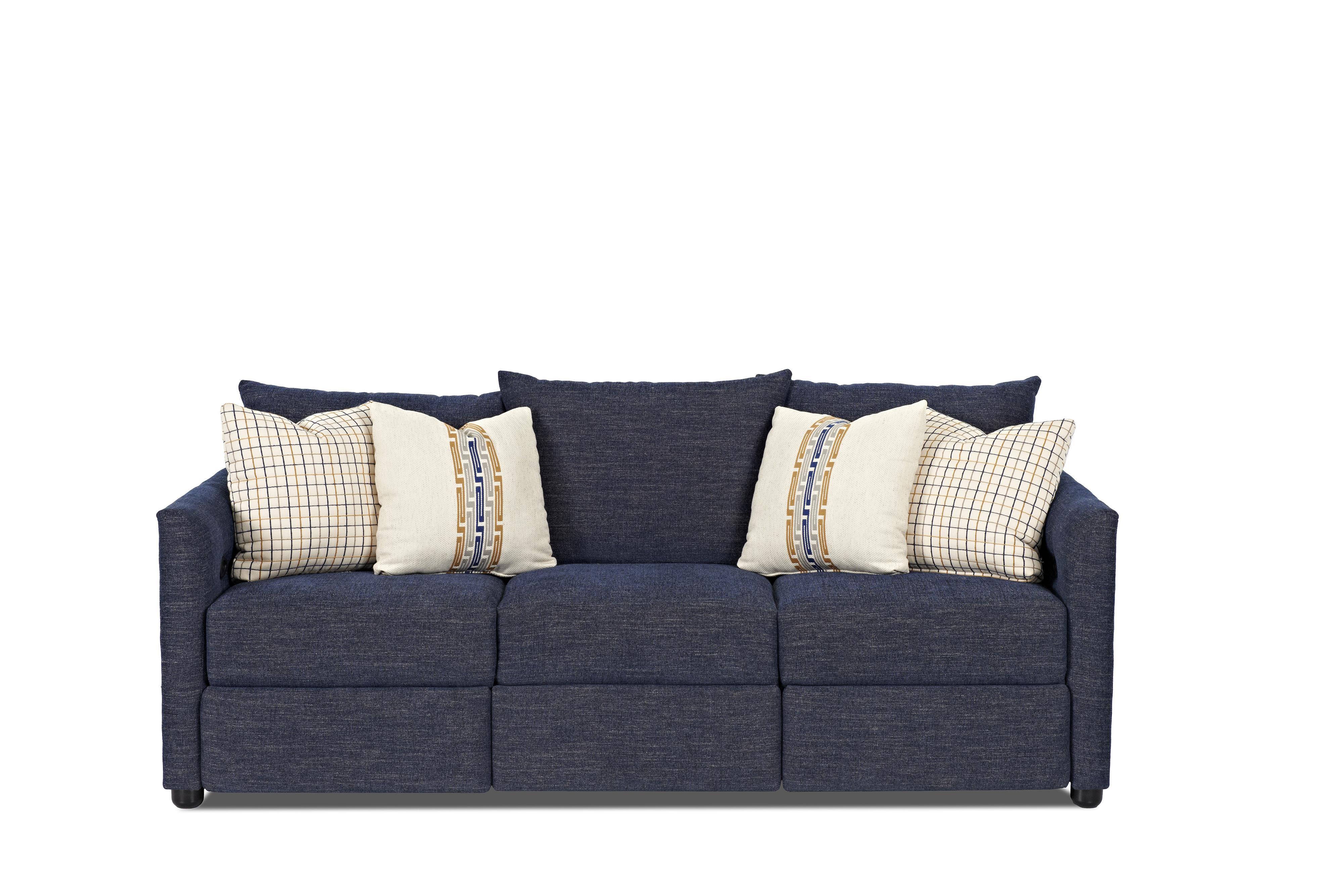 Atlanta Power Reclining Sofa by Klaussner at Johnny Janosik
