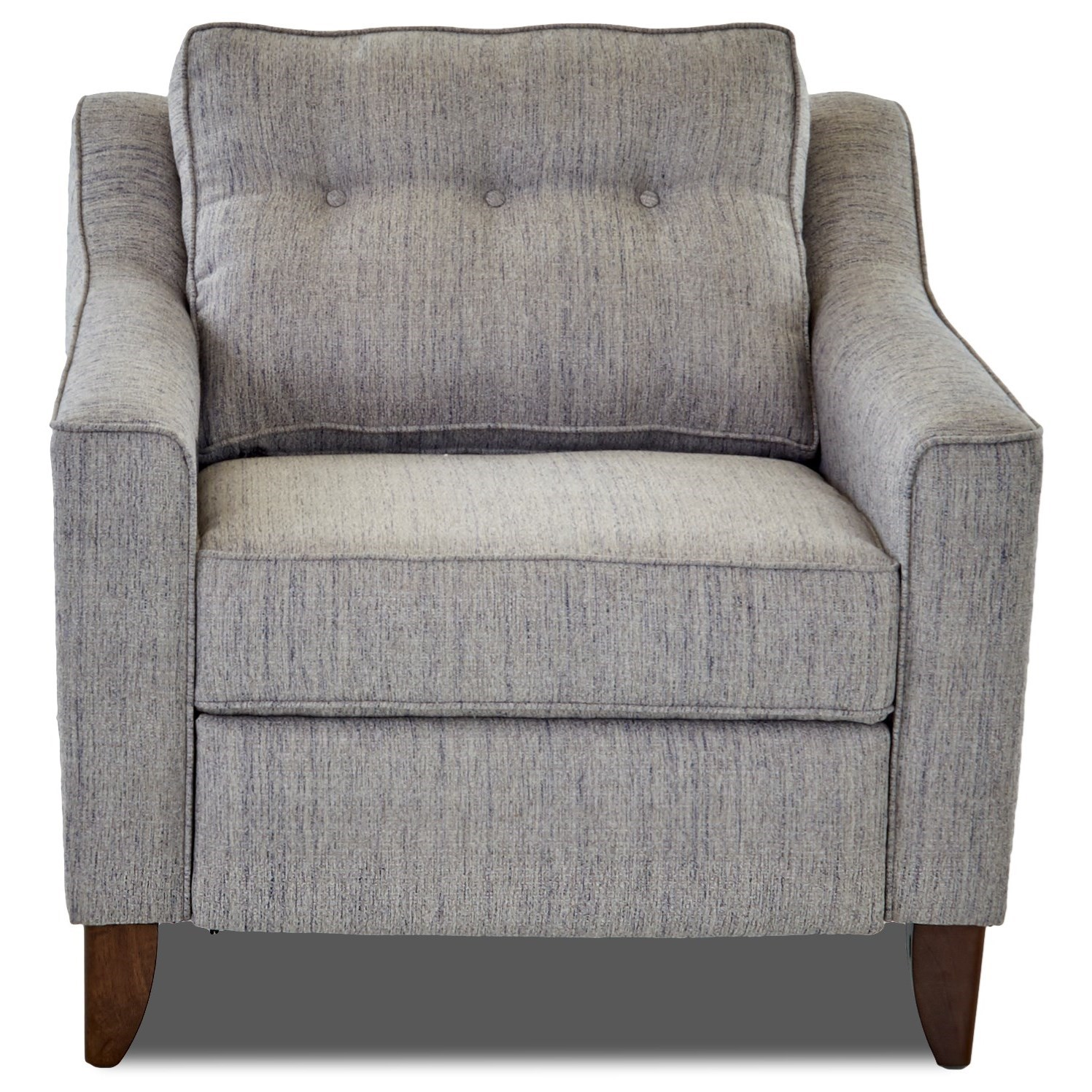 Audrina Power Reclining Chair by Klaussner at Lapeer Furniture & Mattress Center