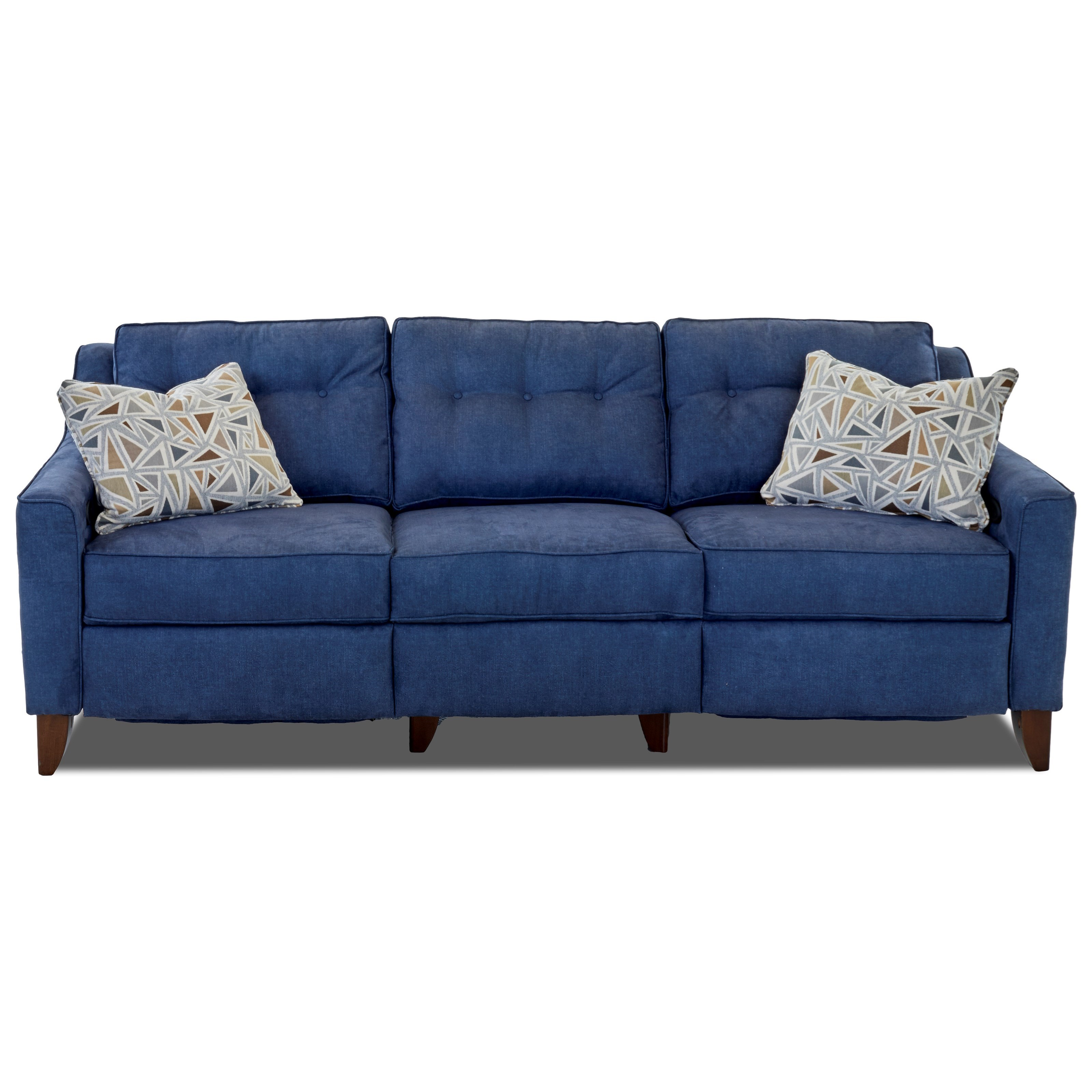 Audrina Power Reclining Sofa by Klaussner at Northeast Factory Direct