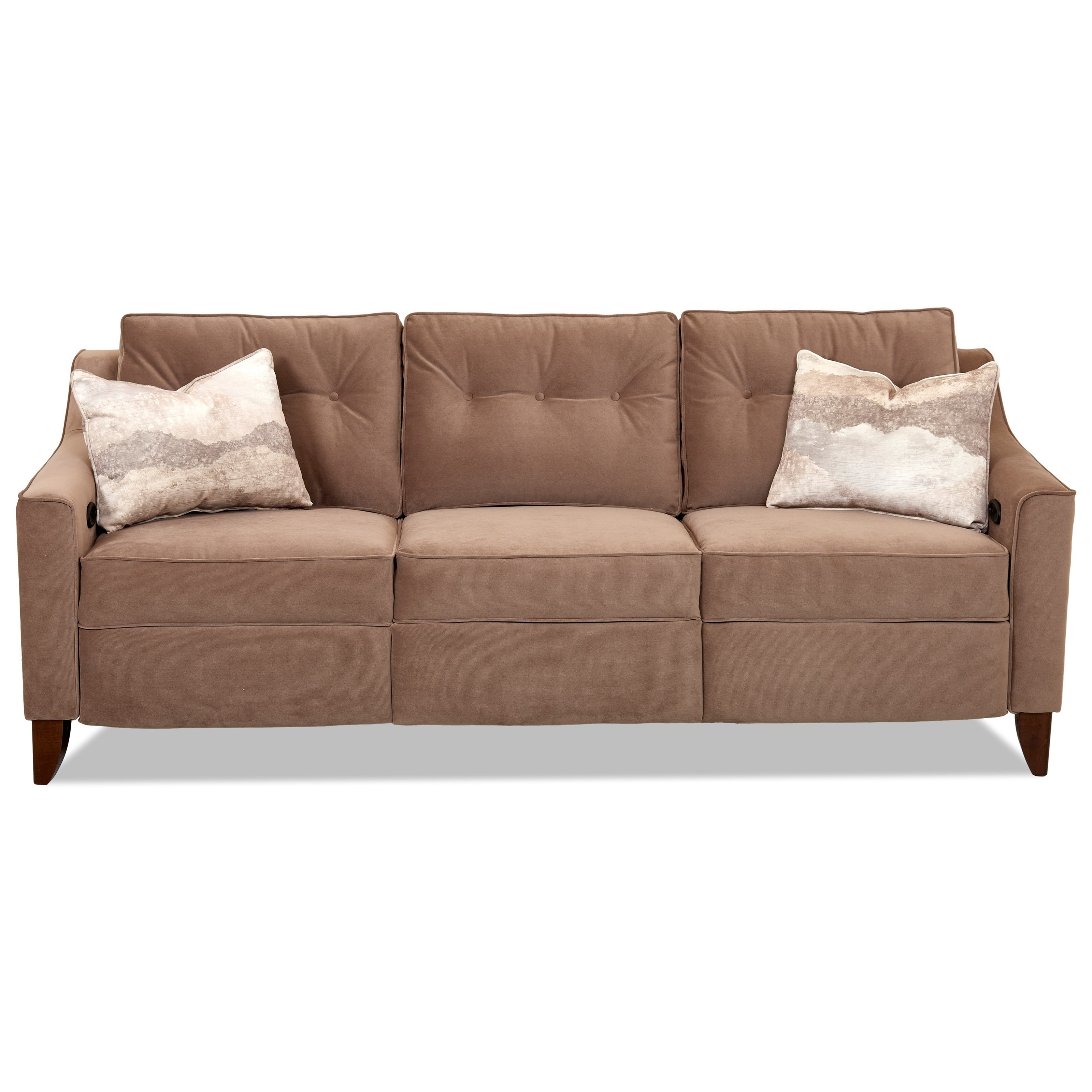Audrina Power Reclining Sofa by Klaussner at Wayside Furniture