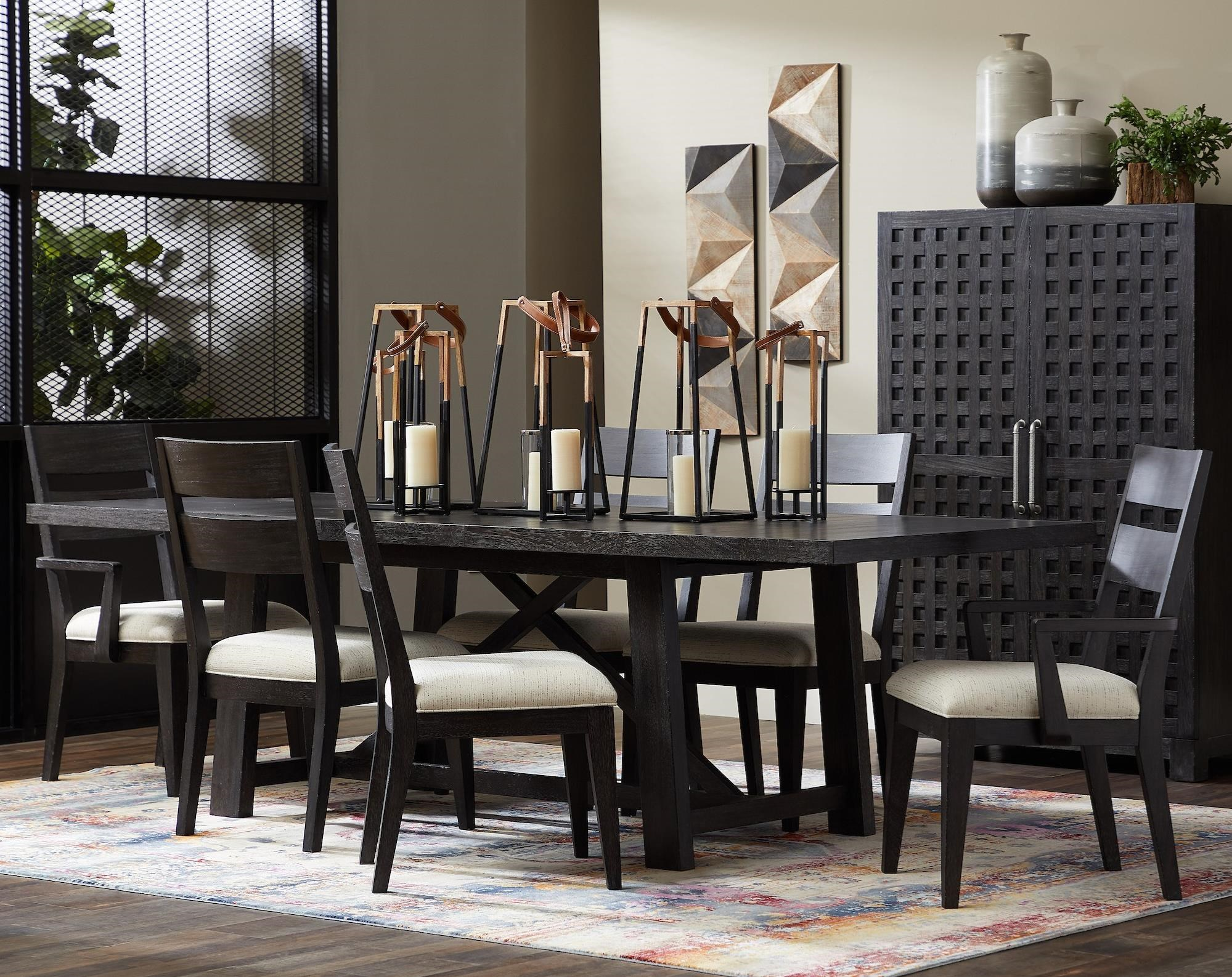 City Limits 7-Piece Outdoor Dining Set by Trisha Yearwood Home Collection by Klaussner at Powell's Furniture and Mattress