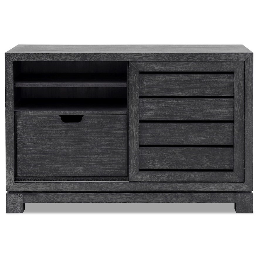 City Limits Office Credenza by Trisha Yearwood Home Collection by Klaussner at Powell's Furniture and Mattress
