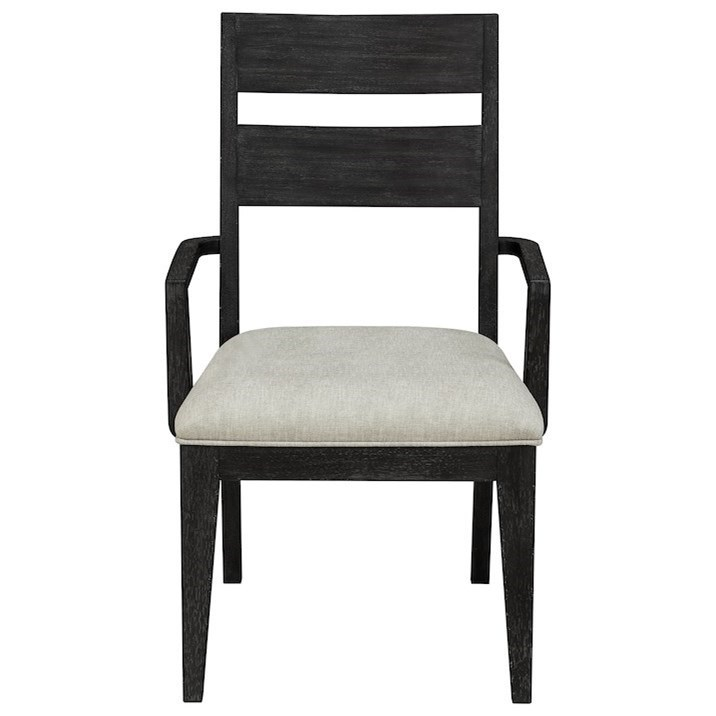 City Limits Dining Room Arm Chair by Trisha Yearwood Home Collection by Klaussner at Darvin Furniture