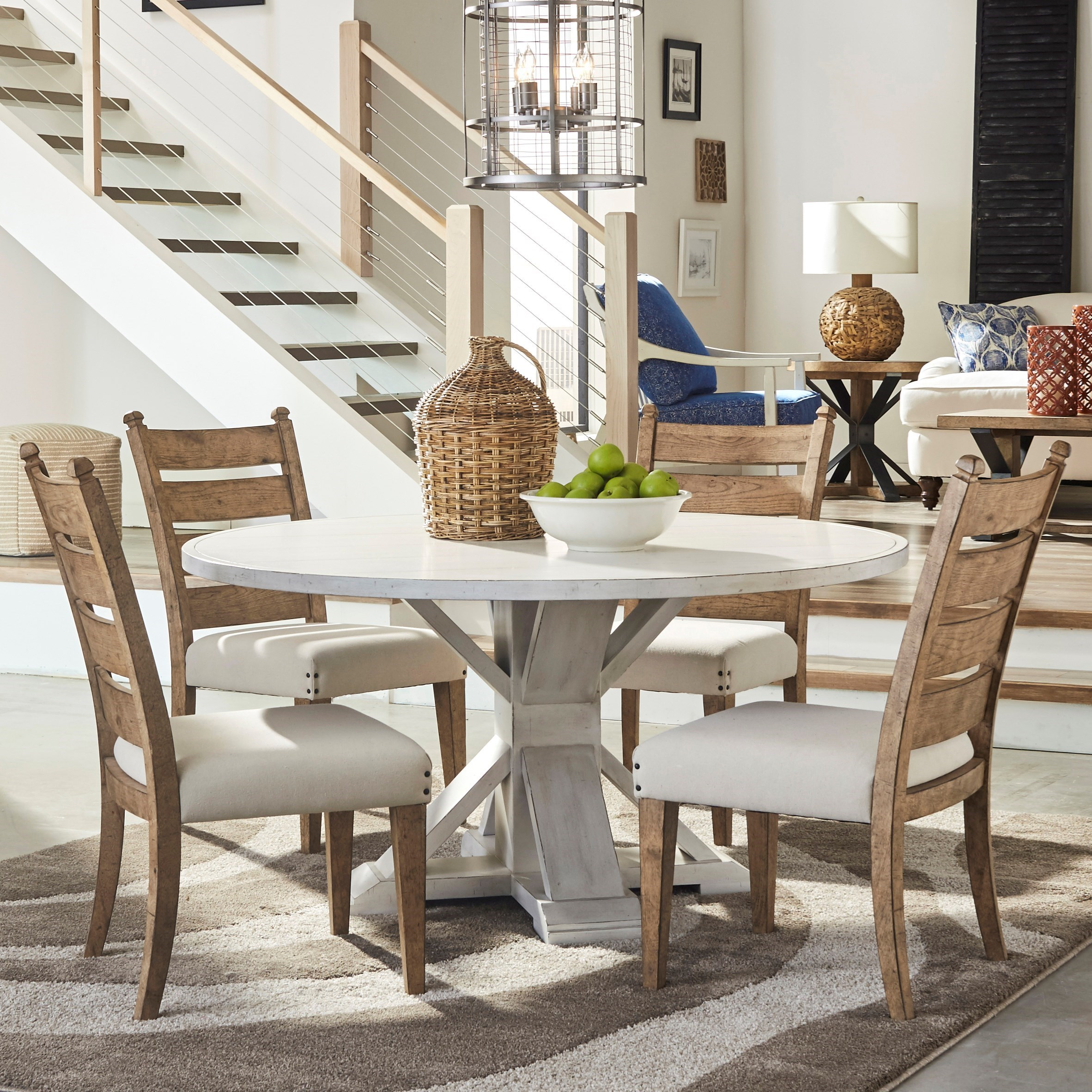 Coming Home 5 Pc Dining Set by Trisha Yearwood Home Collection by Klaussner at Powell's Furniture and Mattress