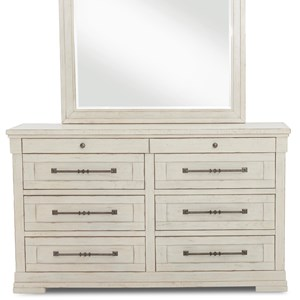 Haven Eight Drawer Dresser with Jewelry Tray and Built-In Power Strip