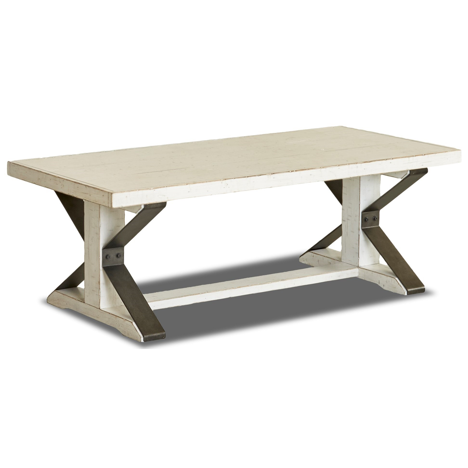 Coming Home Friendship Cocktail Table by Trisha Yearwood Home Collection by Klaussner at Johnny Janosik