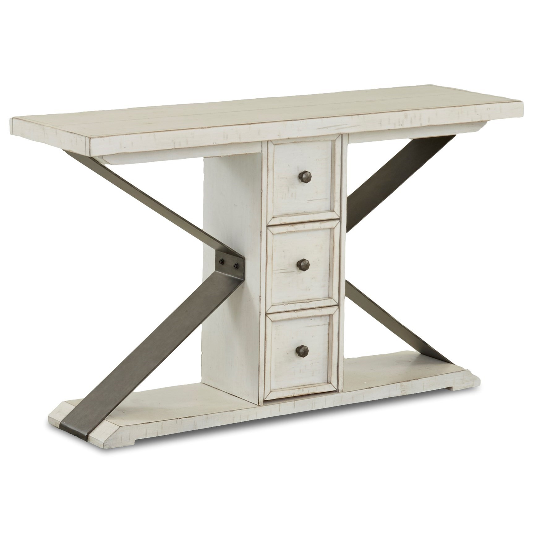 Coming Home Friendship Sofa Table by Trisha Yearwood Home Collection by Klaussner at Johnny Janosik
