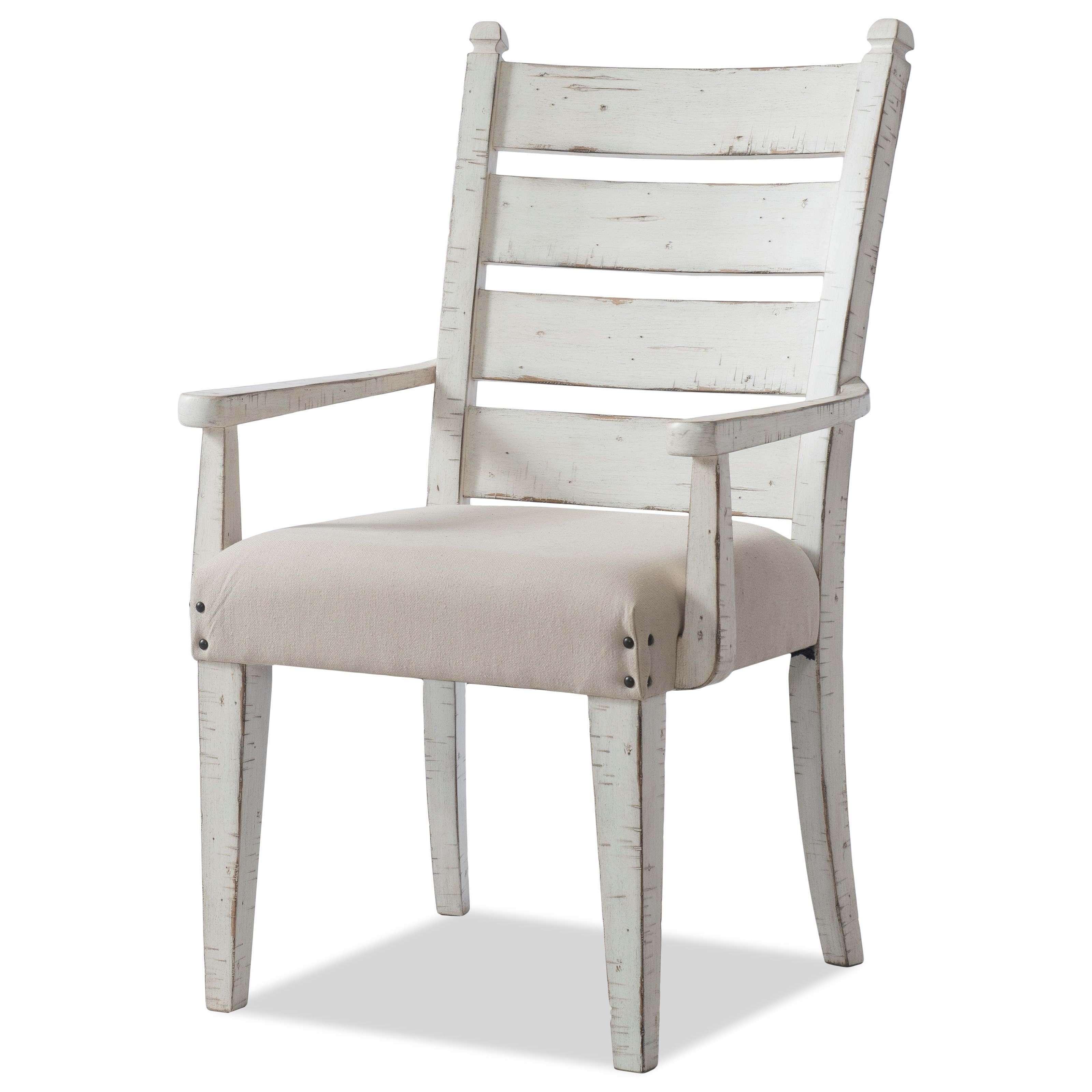 Coming Home Gathering Dining Arm Chair by Trisha Yearwood Home Collection by Klaussner at Johnny Janosik