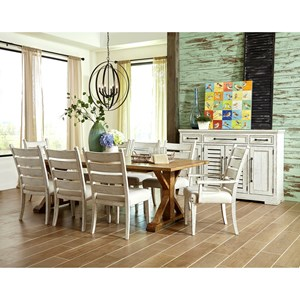Ten Piece Formal Dining Room Group