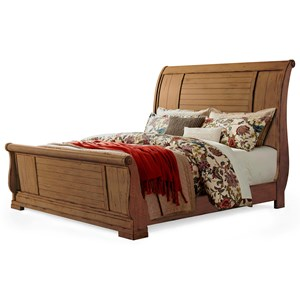 Retreat King Sleigh Bed