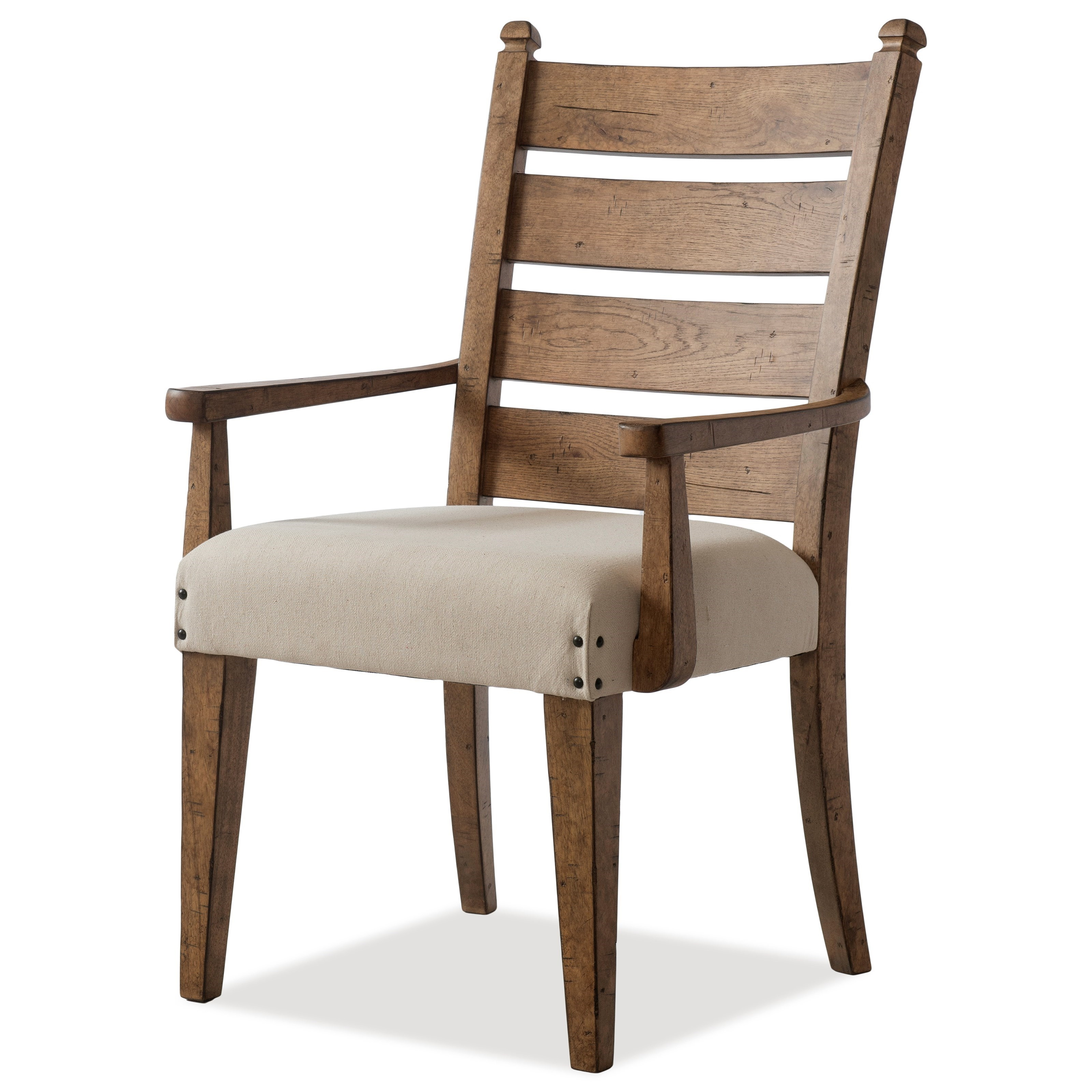 Coming Home Gathering Dining Arm Chair by Trisha Yearwood Home Collection by Klaussner at Rotmans