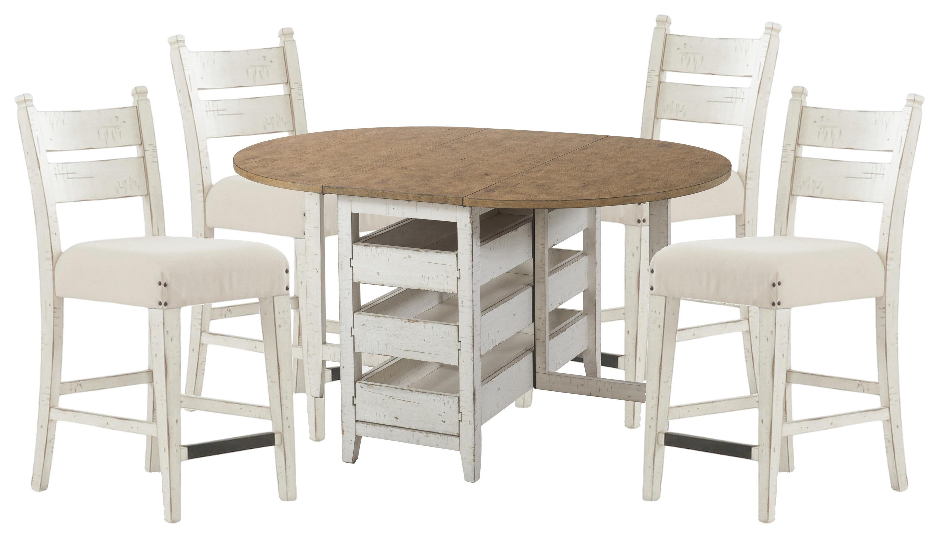 Coming Home Table and Concord Side Chairs by Trisha Yearwood Home Collection by Klaussner at Johnny Janosik