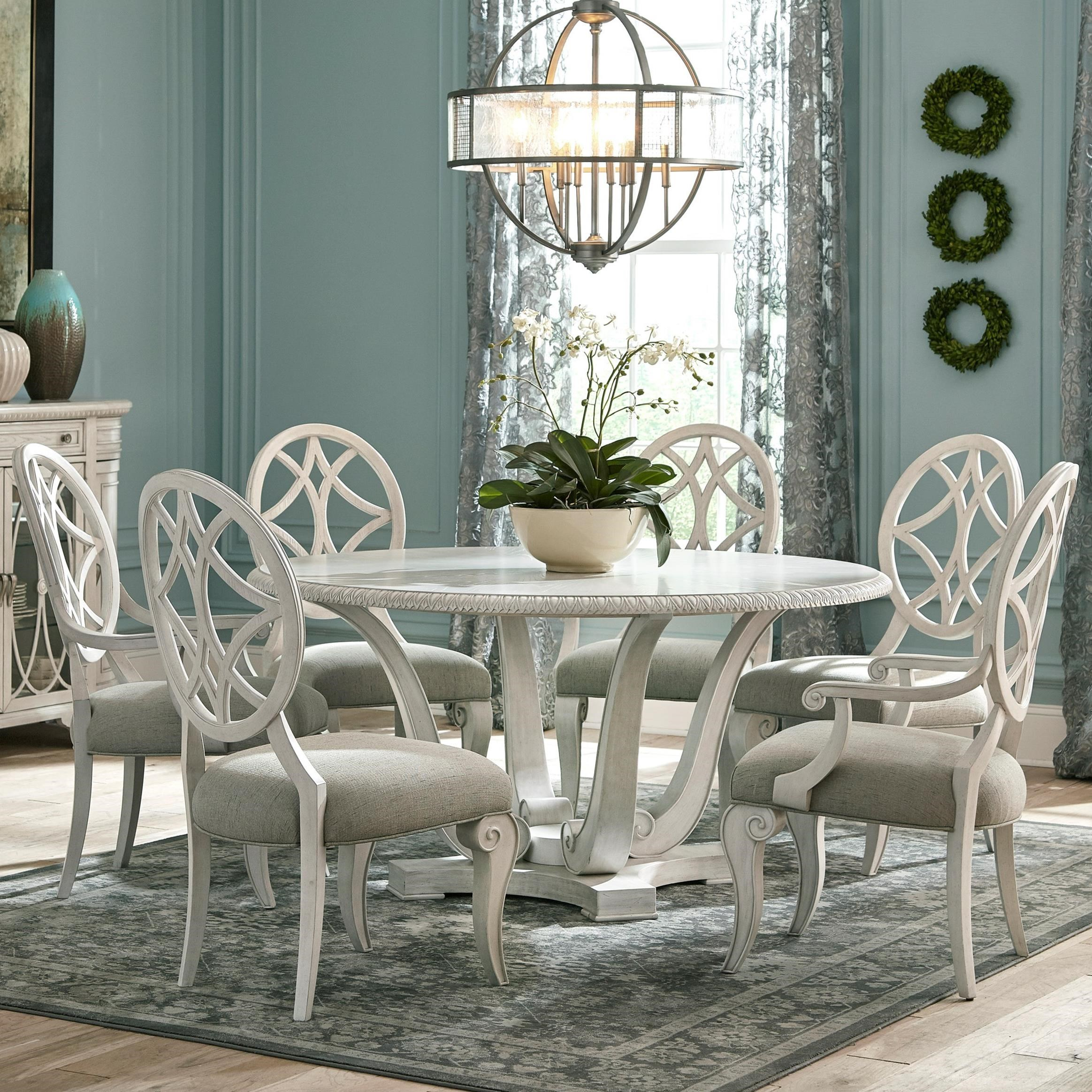 Jasper County 7 Pc Dining Set by Trisha Yearwood Home Collection by Klaussner at Darvin Furniture