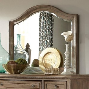 Relaxed Vintage Arched Dresser Mirror
