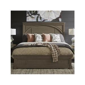 Queen Panel Bed, Dresser, Mirror, Nightstand and Chest Package
