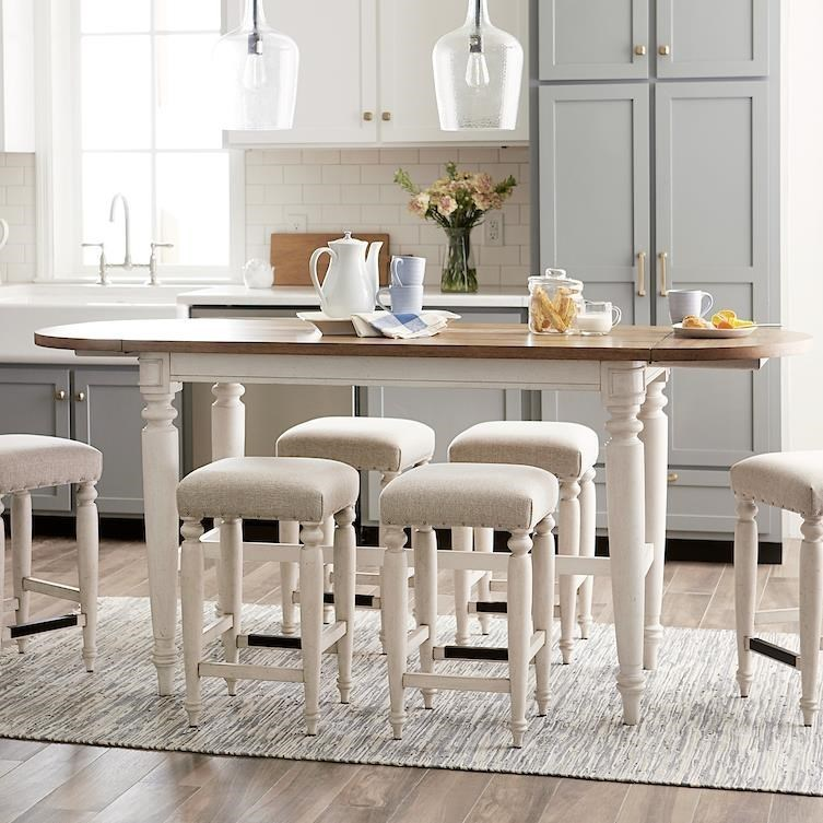 Nashville Allentown Dining Room Table by Trisha Yearwood Home Collection by Klaussner at Johnny Janosik