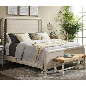 GB Vintage Farmhouse Queen Panel Bed