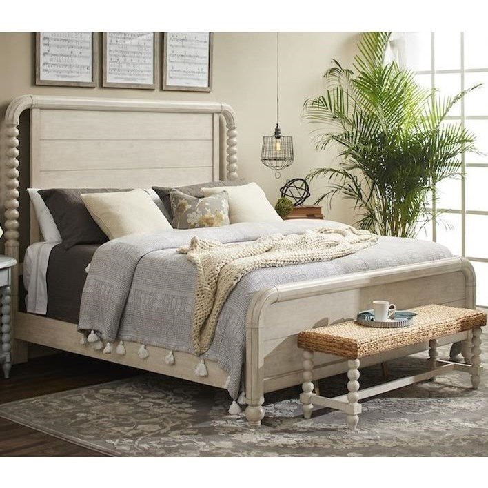 Nashville GB Panel Bed - King by Trisha Yearwood Home Collection by Klaussner at Johnny Janosik