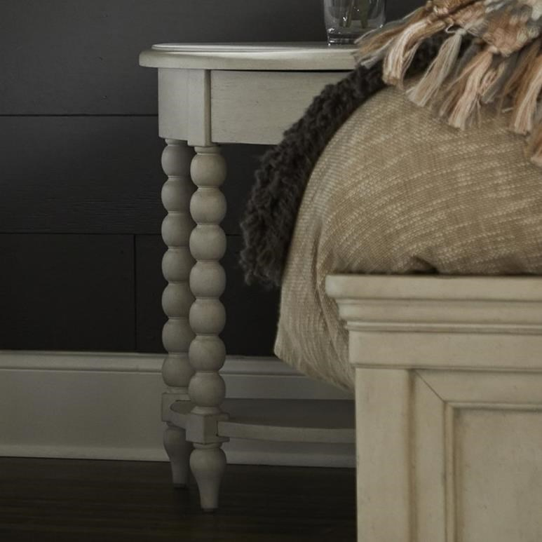 Nashville Trisha Nightstand by Trisha Yearwood Home Collection by Klaussner at Johnny Janosik