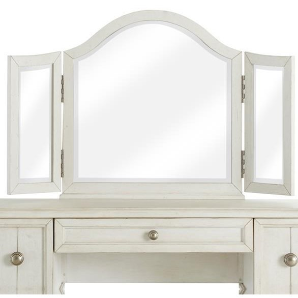 Nashville Broadway Vanity Mirror by Trisha Yearwood Home Collection by Klaussner at Sam Levitz Outlet