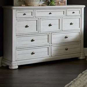 Titan 10-Drawer Dresser