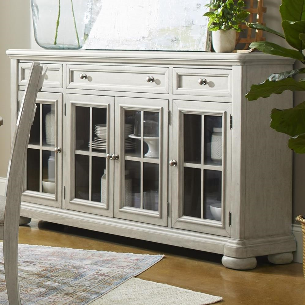 Nashville Concert Hall Server by Trisha Yearwood Home Collection by Klaussner at Darvin Furniture