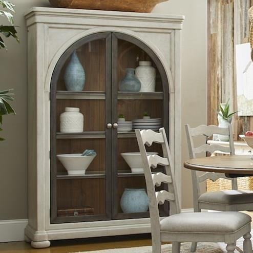 Nashville Hall of Fame Display Cabinet by Trisha Yearwood Home Collection by Klaussner at Johnny Janosik