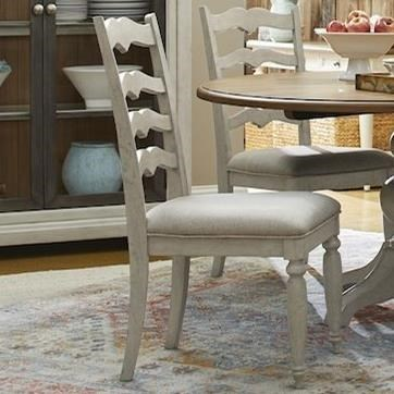 Nashville Concord Ladderback Side Chair by Trisha Yearwood Home Collection by Klaussner at Darvin Furniture