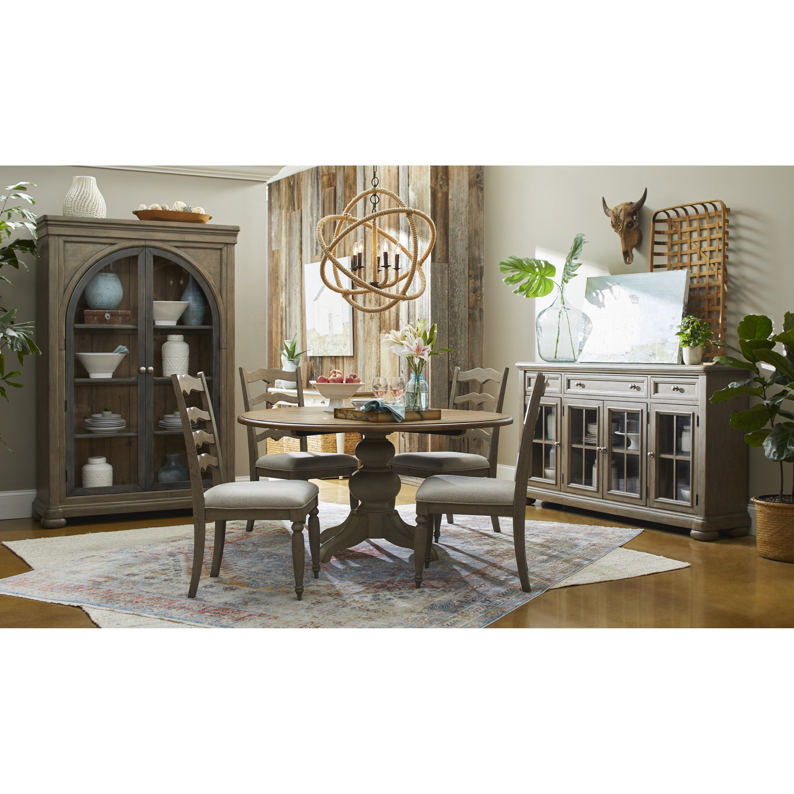 Nashville Casual Dining Room Group by Trisha Yearwood Home Collection by Klaussner at Powell's Furniture and Mattress