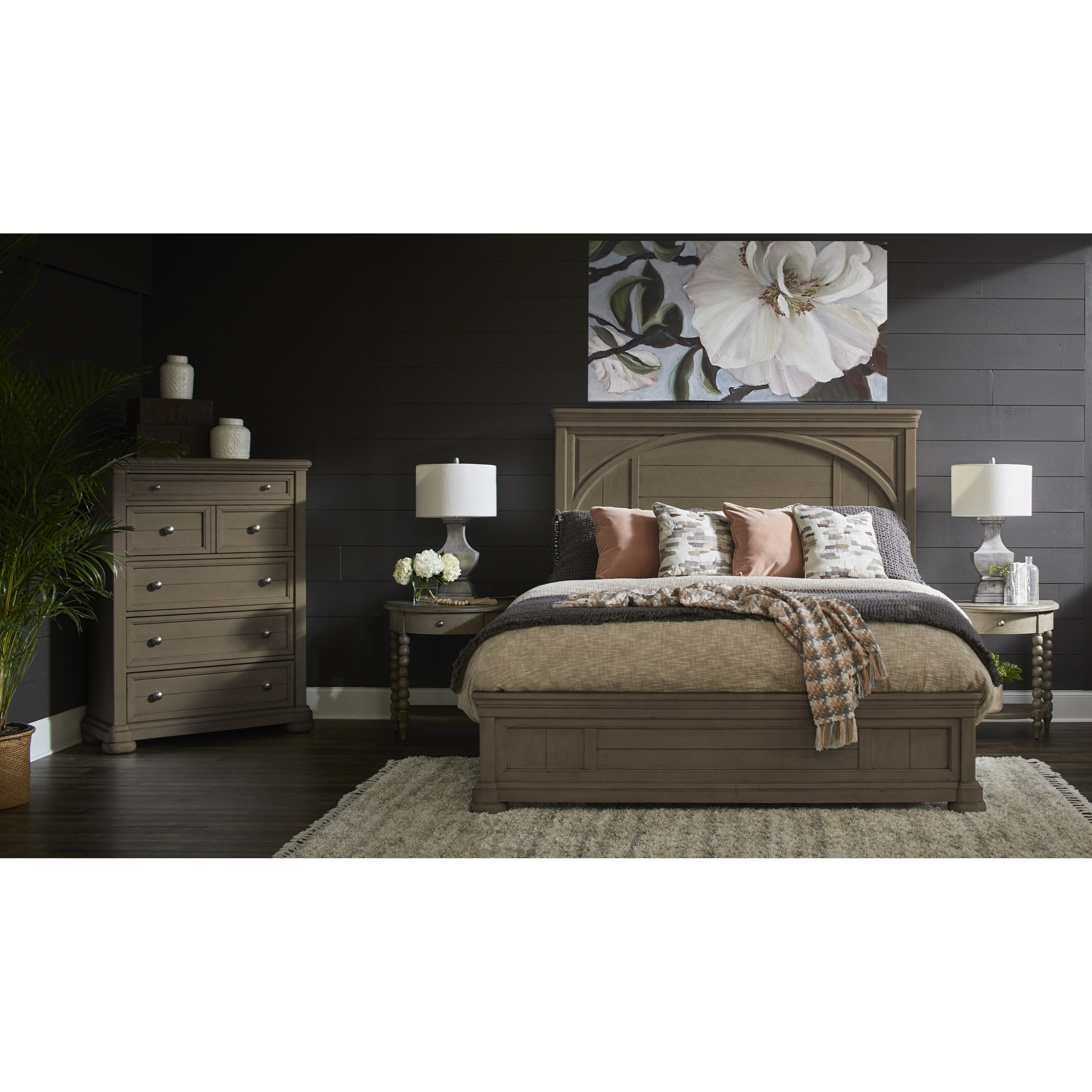 Nashville Queen Bedroom Group by Trisha Yearwood Home Collection by Klaussner at Powell's Furniture and Mattress