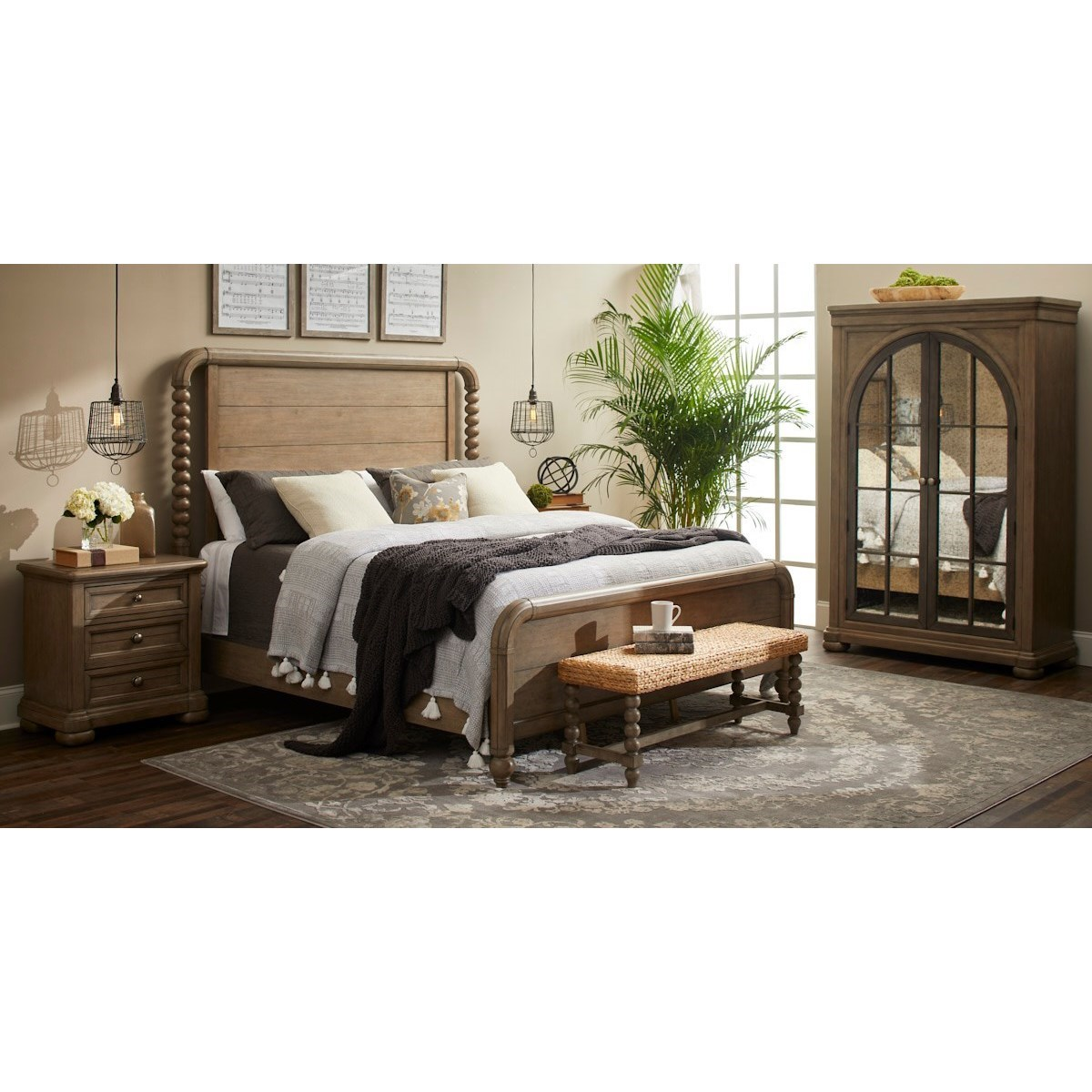 Nashville King Bedroom Group by Trisha Yearwood Home Collection by Klaussner at Powell's Furniture and Mattress