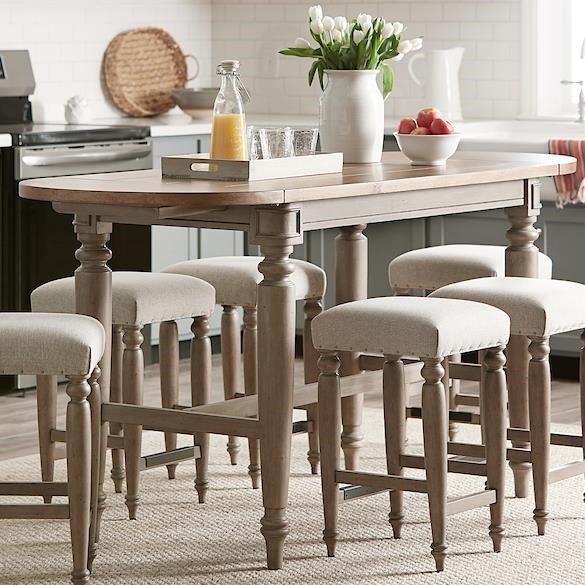 Nashville Allentown Dining Room Table by Trisha Yearwood Home Collection by Klaussner at Sam Levitz Outlet