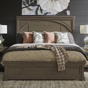 TYB Queen Panel Bed