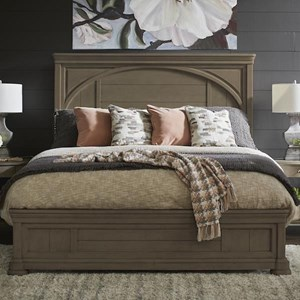 TYB King Panel Bed